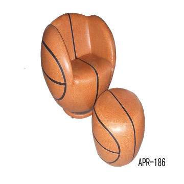 China Basketball Chair adult size with ottoman  Ball chairs  sc 1 st  Global Sources : basketball chairs - lorbestier.org