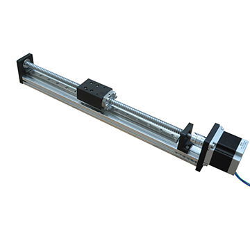 Ball Screw/Stepper Motor Driven Linear Guide Rail for CNC, THK/400mm