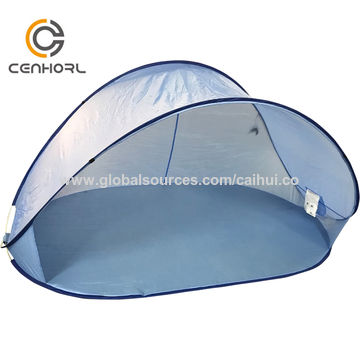 China Beach Umbrella Outdoor Sun Shelter Portable Camping Fishing Hiking Canopy Easy Setup