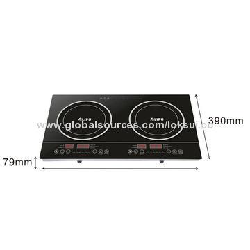 China 2-burner induction cooker