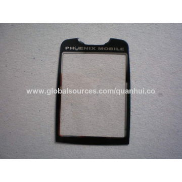 China Acrylic faceplate, acrylic panel for cellphone
