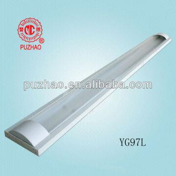 China batten light diffuser light fittings fluorescent tube lamps 32w