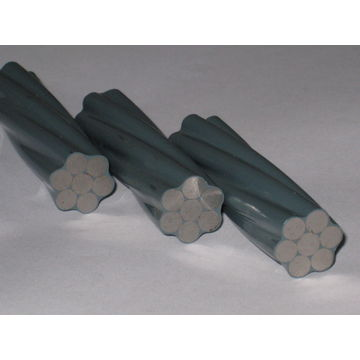 Galvanized Steel Wires/Guy Wires as Ground Wire or Static Wire on ...
