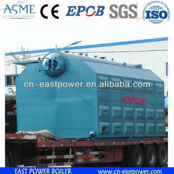 10 Ton Boiler ASME 3 pass steam boiler 1. double drum design 2. good ...