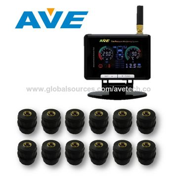 Taiwan Full Time Transmit TPMS Tire Pressure Monitoring System for Truck/HCV/Bus/Trailer/Caravan/Lorry/Tow