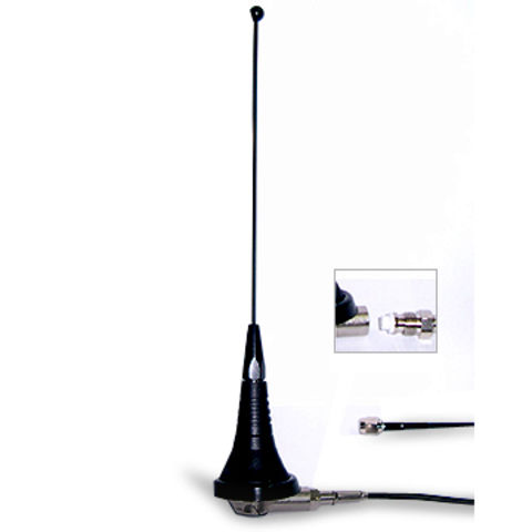 Taiwan Vehicle Car Whip Antennas With Roof Screw Mounting For 2 Way UHF  Radio;