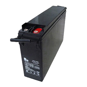 China 12V/150FR Front Terminal Solar AGM Battery on Global Sources