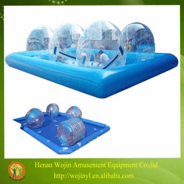 Custom inflatable hamster ball pool toys/inflatable swimming pool ...