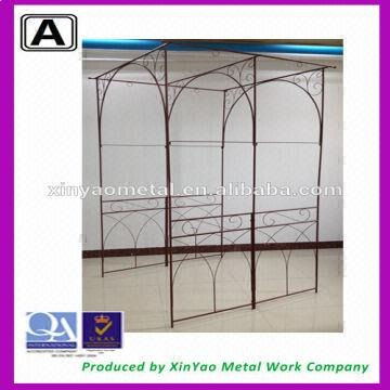 Metal garden arch Wedding arch Rose Iron rose arch Wrought iron ...