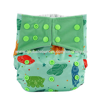 Free Sample Bamboo Baby Printed All In One Cloth Diaper Global Sources