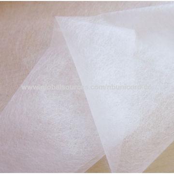 China Adhesive fusible nonwoven interlining fabric