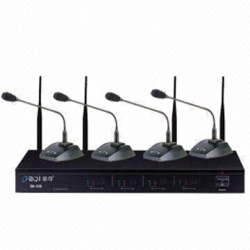 conference room microphone system /Four chanel of wireless ...