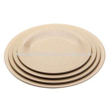 Dinner Plates China Dinner Plates  sc 1 st  Global Sources & China Hot Selling Dinner Plates Non Plastic Made of Natural Rice ...