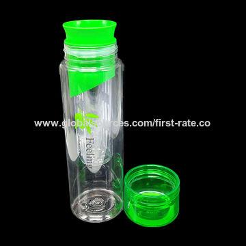 ... China BPA Free Tritan Plastic Fruit Infuser Water Bottle ...