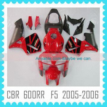 Abs Fairing Body Kit For Honda Cbr600rr F5 05 06 Fairing Bodykit