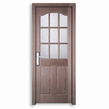Interior Door with PVC Coating and HDF Board Door Frame | Global Sources