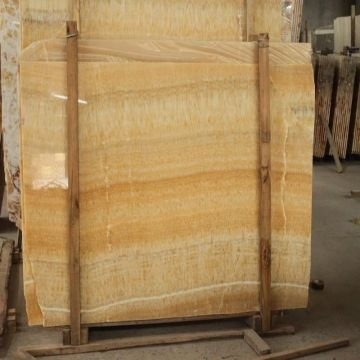 Honey Onyx Stone Yellow Marble Natural Tile Chinese