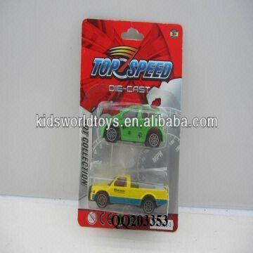 Mini free wheel die cast car -2 pcs inside have 2 models