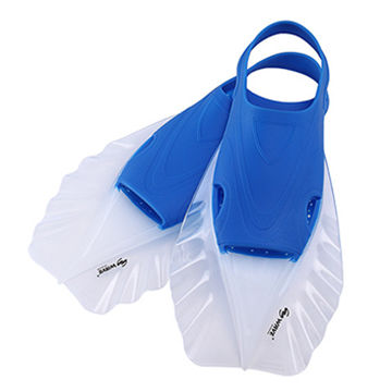 China Scuba Gear Fins Swimming Pool Short Fins for Swimming on ...