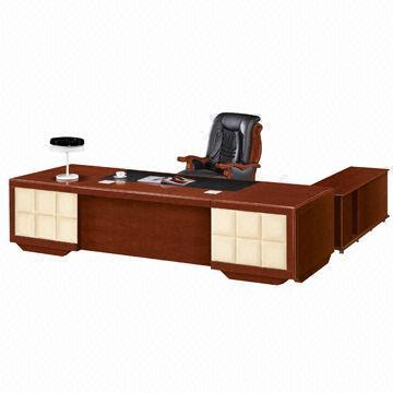 ... China 3.2m High End Walnuts Veneers L Shaped Office Desk