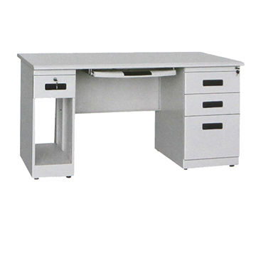 Office desk with drawers Reclaimed Wood Metal Office Desk China Metal Office Desk Global Sources China Wholesale Designer Metal Office Desk With Drawers And Cpu