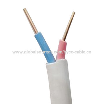 Multicore PVC flat cable for protected installation in equipment and ...