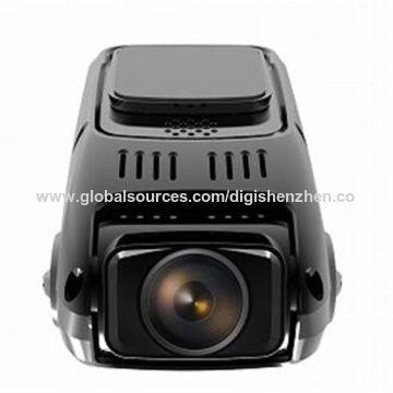 1.5 -inch LCD display hidden double lens car DVR