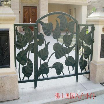 4 China Door Iron Gate Design 1.good Installation Guide. 2.perfect Welding  Technology