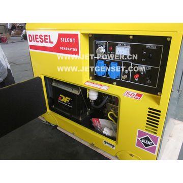 5kVa silent diesel generator Chinese diesel engine single phase