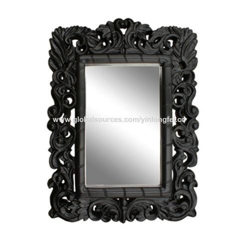 China Espejo, disponibles enmarcado PU en los diversos tamaños ...