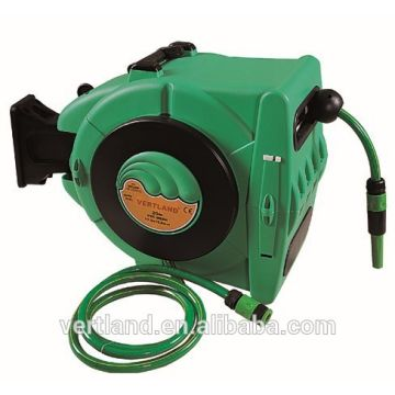 china hose reel for garden wall mounted automatic retractable water garden hose reel20m - Retractable Hose