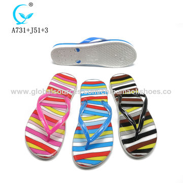 acc095945 China 2019 new summer collection footwear women slippers hot selling bulk  flip flops ...