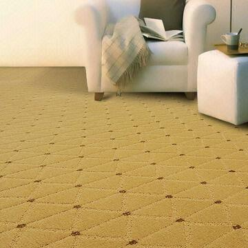 China Tufted PP Carpets, Cut and Loop, Used in Hotel Guest Room