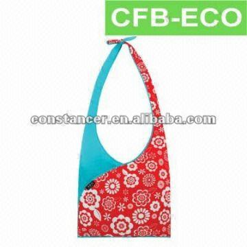 Foldable Reusable Eco Friendly Shopping Tote Roll Up Bag Global