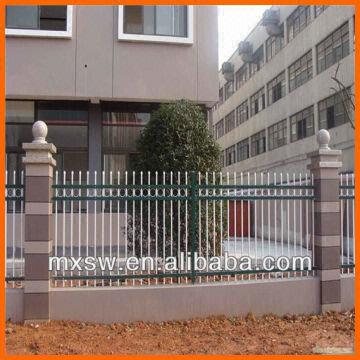 Modern Fancy Wrought Iron Rail Fence Gate | Global Sources