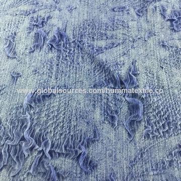 China Polyester pleated chiffon