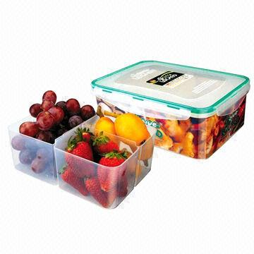 ... China 4 Side Locked Rectangle Food Container