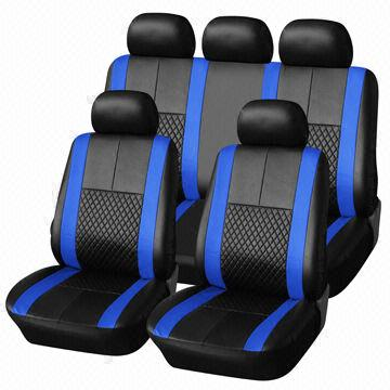 Car Seat Cover In Royal Leather Series With Popular Design And