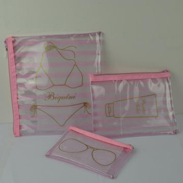 China PVC Beach Cosmetic Bag Set from Wenzhou Manufacturer ...