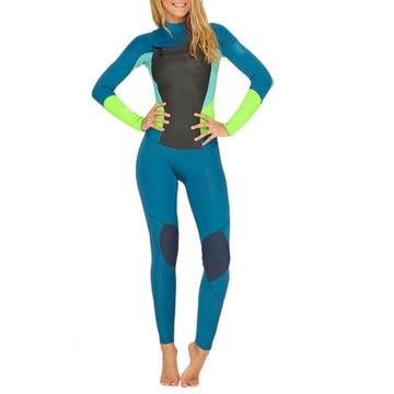 7e3f453917 Full Body Diving Women Neoprene Wetsuit Surfing Suit Semi-dry Sport ...