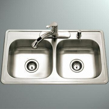 Kitchen sink, specifically for manufactured housing or R/V ...