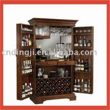 China 100 Solid Wood Bar Cabinet