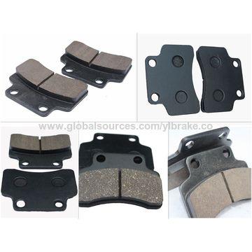 China performance non-asbestos brake pad manufacturing