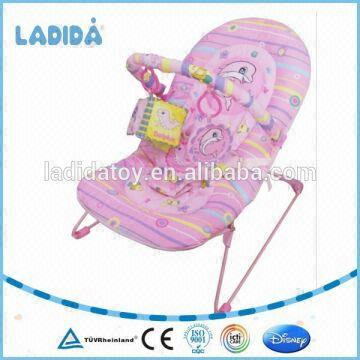 Color box gi China Adult baby bouncer/plush baby rocker ride on toy  BR90001P-1-W