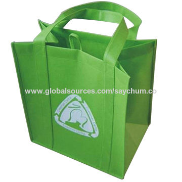 china customized printed gift nonwoven bag from shanghai wholesaler