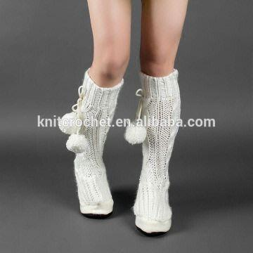 Hand Knitted Boots Knitted Winter Boots Knitted Boots Pattern