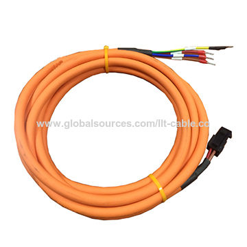 China Special highly flexible robot cable shielded servo motor cable ...