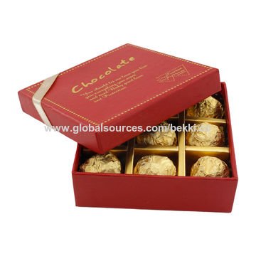 Chinahigh Quality Luxury Gift Candy Box 9 Grid Chocolate Box Food Packing Box Valentine S Day On Global Sources