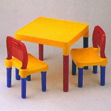 taiwan children 39 s colorful plastic furniture set on global. Black Bedroom Furniture Sets. Home Design Ideas
