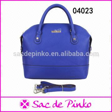 Reasonable price China 1.latest design dark blue leather ladies handbag  women bag 2.excellent quality b94794cdb82b3